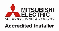 Mitsubish Air Conditioning Accreditied Installer